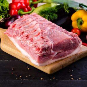 Спино-поясничный отруб свиной на кости